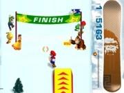 Play 3D Mario Snowboard