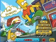 Play Bart urban skate adventure