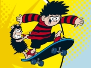 Play Dennis and Gnasher Skateboarding unleashed