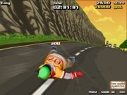 Play Downhill Madness - skate on your back