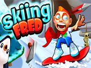 Play Skiing Fred