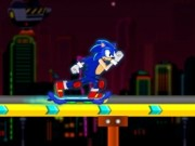Play Sonic skate glider