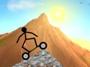 Play Stickman mountain skating