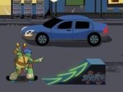 Play Teenage Muttant Ninja Turtles Deck'd out skateboard